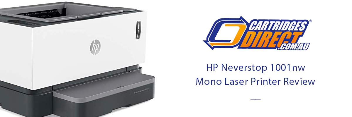 HP Neverstop 1001nw Laser Printer Review