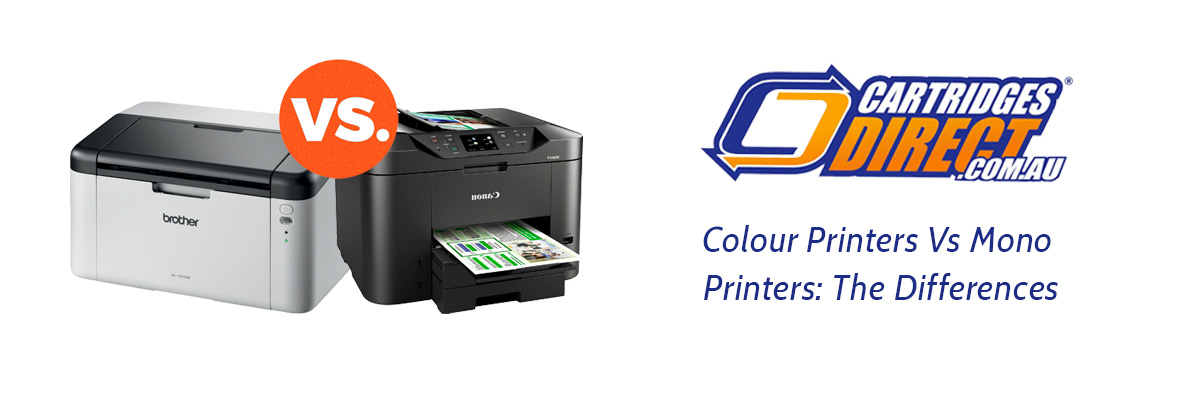 Colour Printers Vs Mono Printers: What's The Difference?