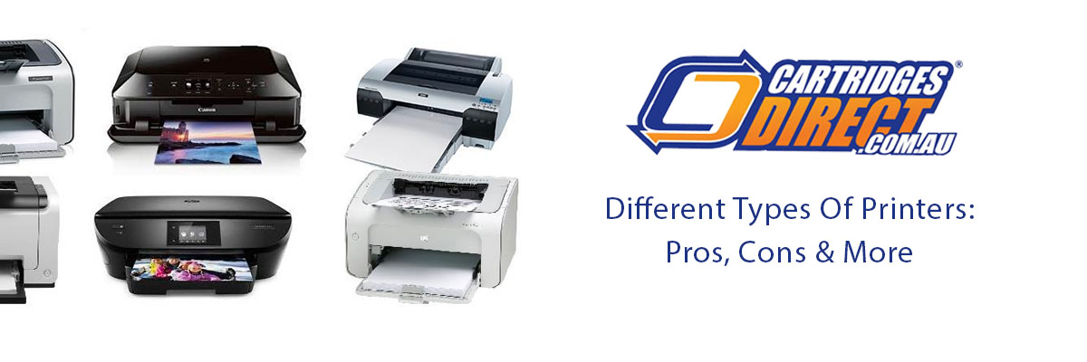 Types Of Printers: Pros, Cons, Uses & More
