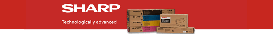 Sharp printers and printer cartridges